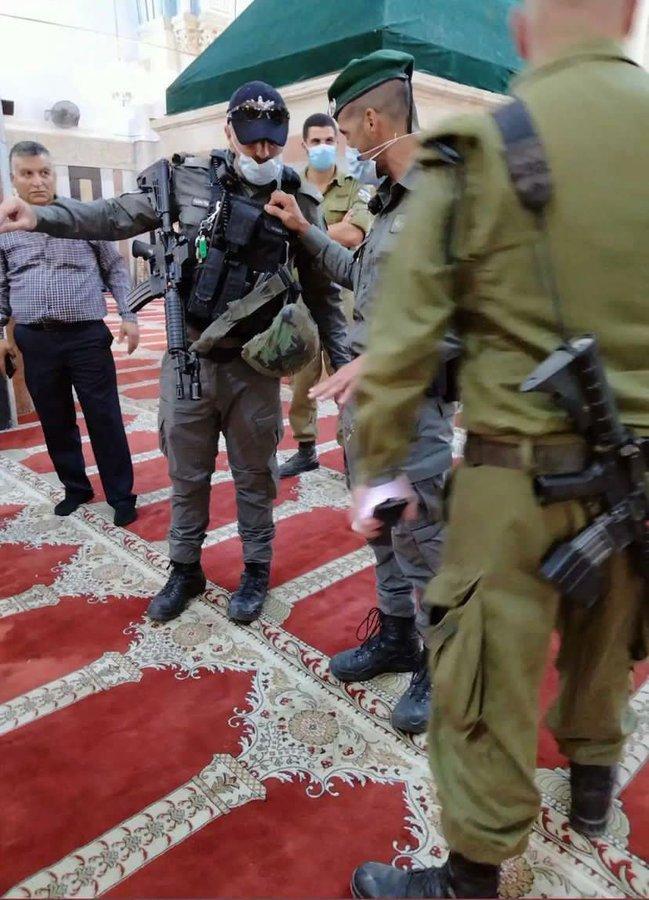 İsrail baskın
