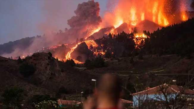 la palma volkan patlaması